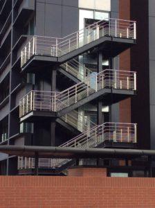 Escalier d'immeuble